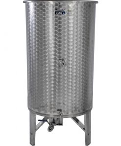 Cisterna inox cu fund conic